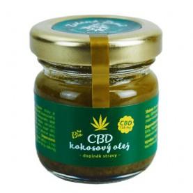 Kokosový olej s konope 30 ml
