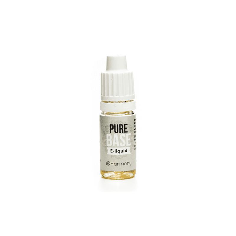 e-liquid s obsahom CBD v malej fľaške na bielom pozadí