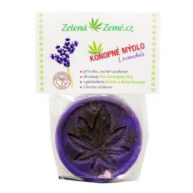 Konopné mydlo - Levanduľa 80 g