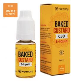 CBD e-liquid náplň do vape a elektronickej cigarety s obsahom CBD, Harmony