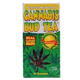 Konopný čaj Cannabis Bud Tea Amsterdam high s obsahom prírodného CBD.
