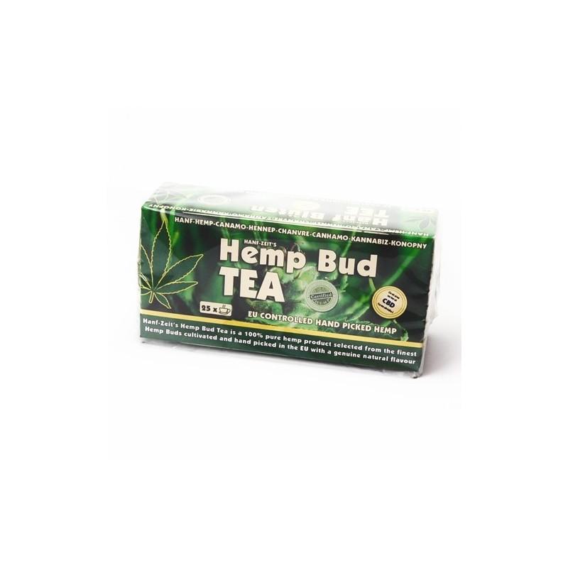 Konopný čaj s CBD porciovaný.