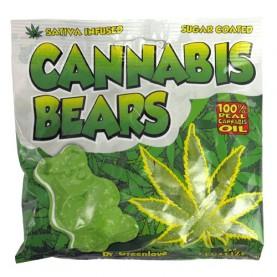 Gumené medvedíky Cannabis...
