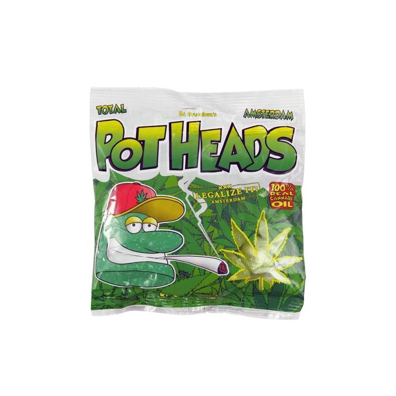 Gumené cukríky Cannabis Pothead - konopné cukríky 100 g