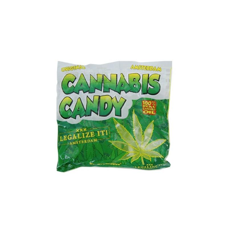 marihuanové gumené cukríky Cannabis Candy 100 g