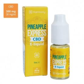 CBD e-liquid HARMONY 300 mg / 10 ml - Pineapple Express