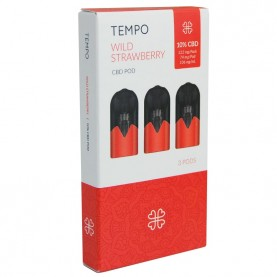 TEMPO 3 pods Wild Strawberry