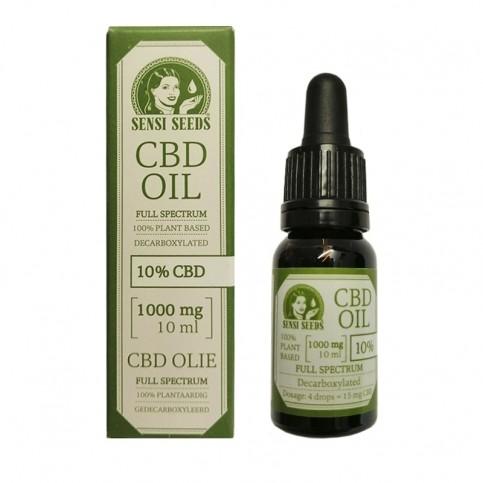 CBD Olej - CBD Oil Sensi Seeds 10 ml / 10 %
