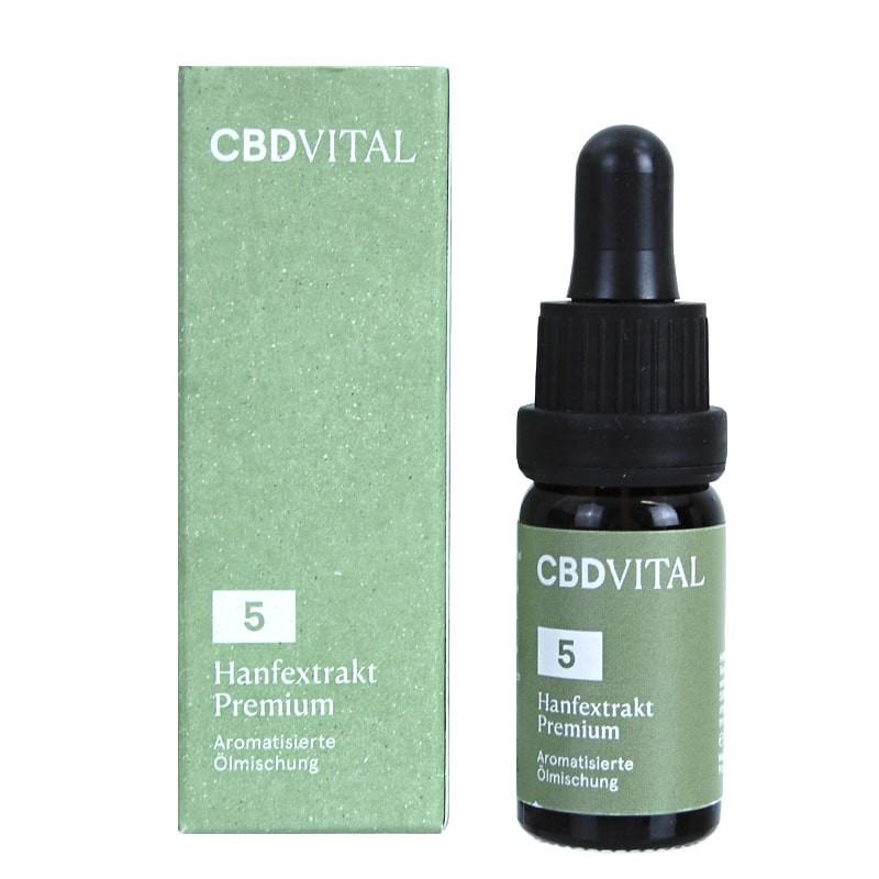 CBD olej Vital Premium 5% 10ml