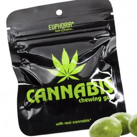 Euphoria žuvačka cannabis