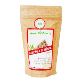 balenie lúpaných konopných semienok