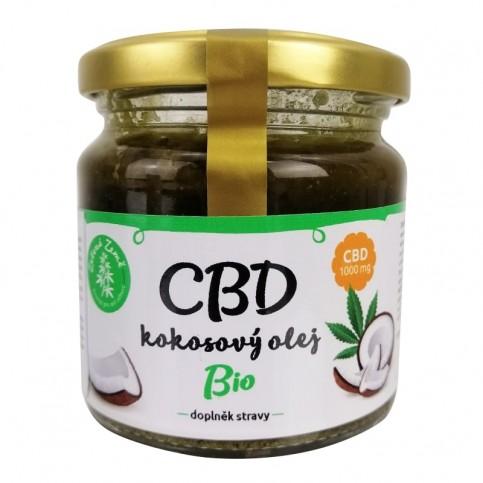 CBD kokosový olej BIO 170 ml