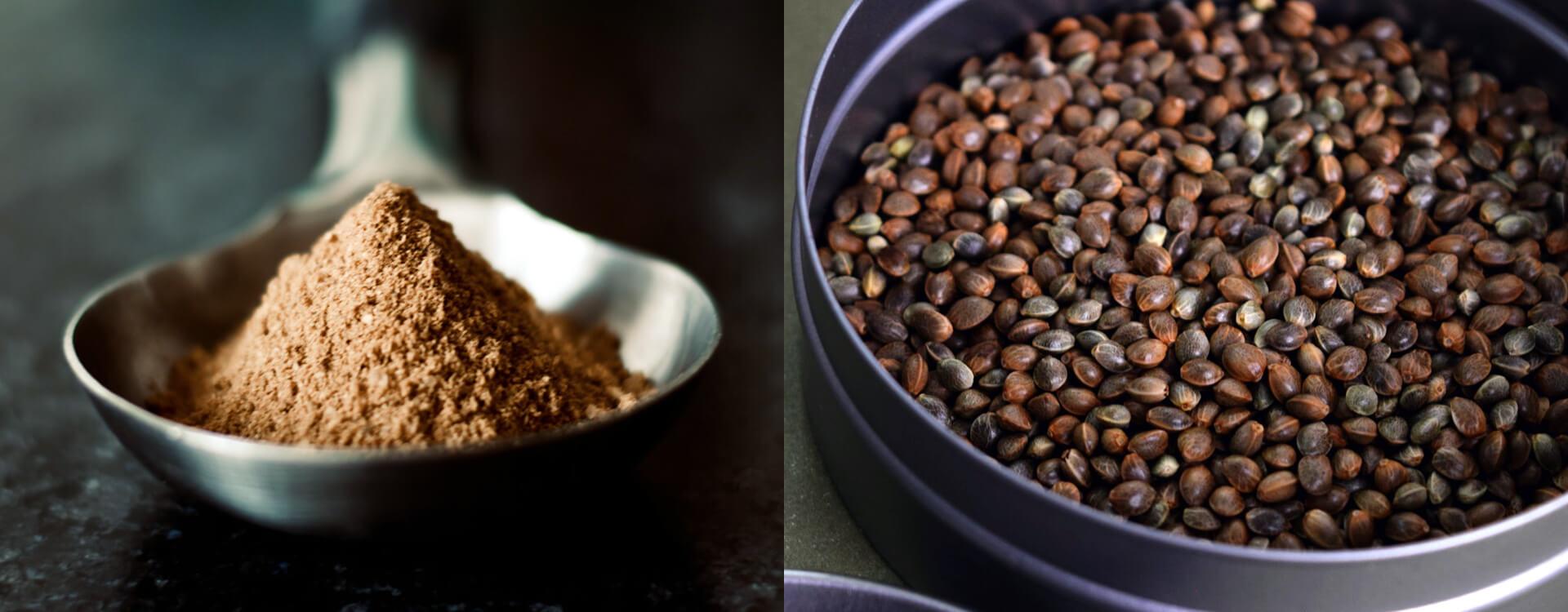 Konopný proteín a konopné semená