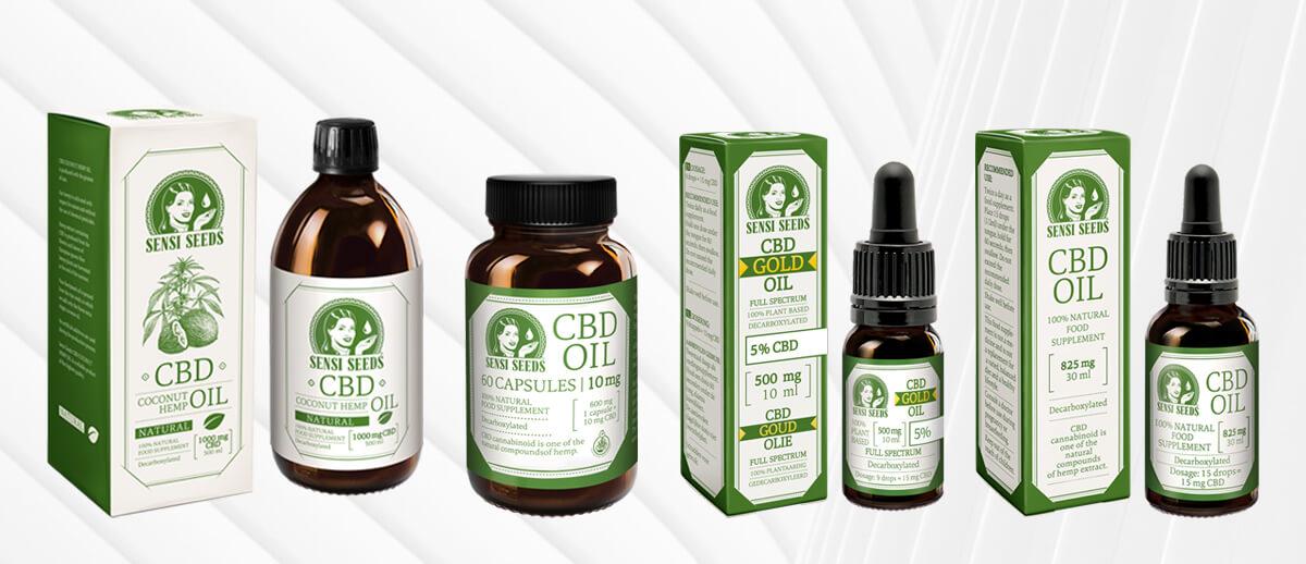 Overený výrobca CBD produktov - Sensi Seeds oleje a kapsule
